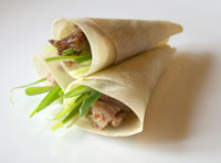 Canape - Chinese Duck Pancakes