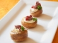 mini-yorkshire-puddings-with-creme-fraiche-venison-redcurrant-sauce